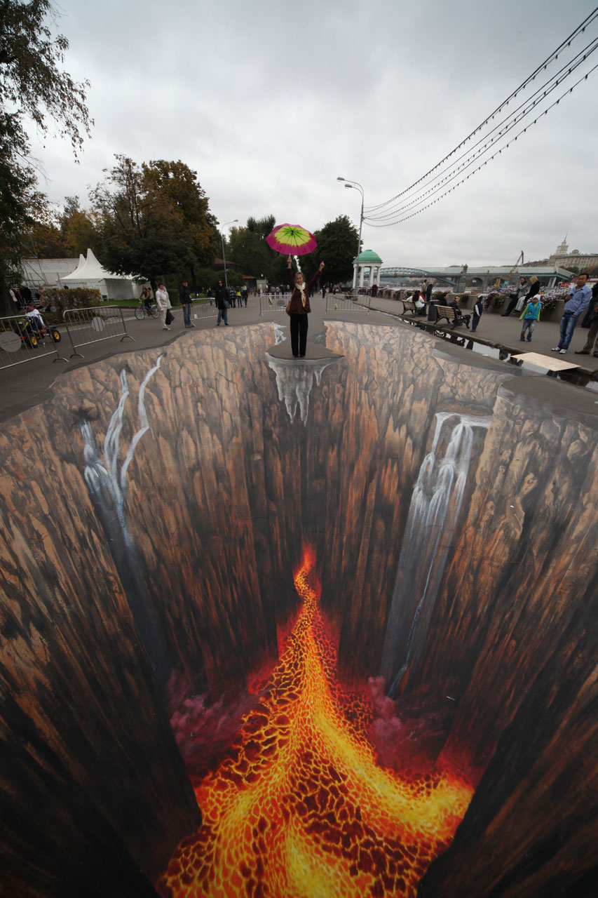 Edgar Mueller 3D Street Art