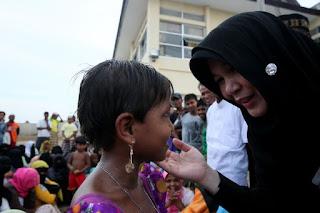 Bantuan Pemko Banda Aceh Untuk Dapur Kanji Rumbi Muslim Rohingya