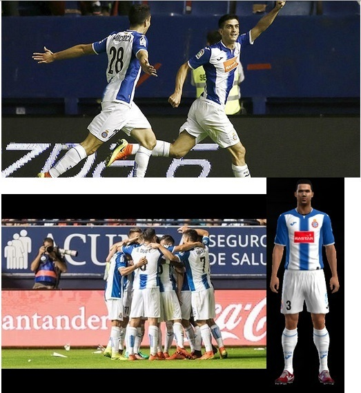 PES 2013 RCD Espanyol Kit 2016/2017