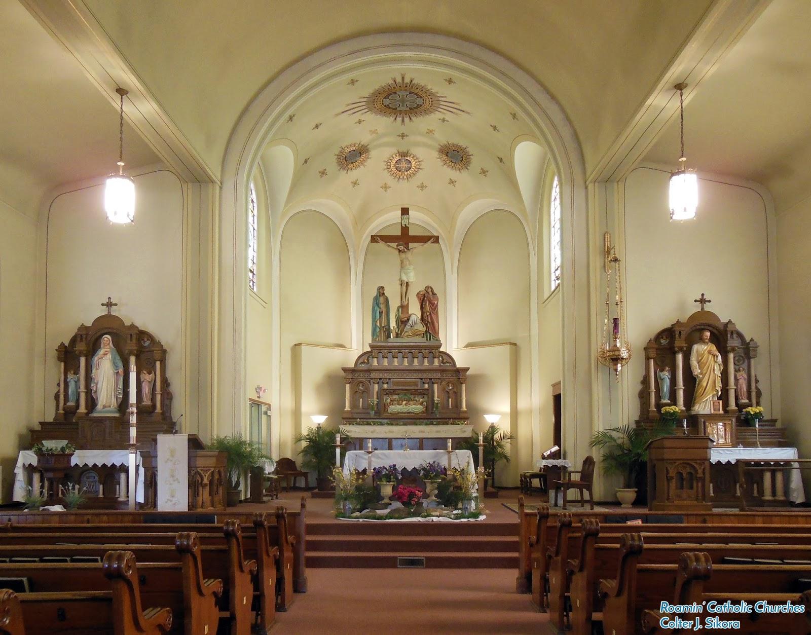 Roamin Catholic Churches September