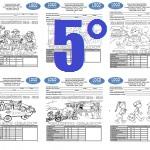 Examen 5to grado Bloque I 2015-2016