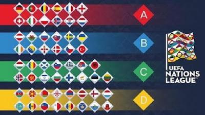 2018/2019 - 首届欧洲国家联赛赛程