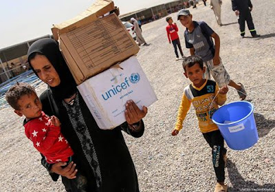 ve reached over 800,000 vulnerable Iraqis with emergency hygiene supplies