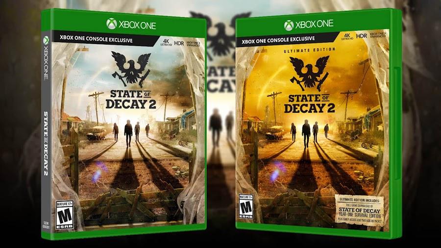 state of decay 2 ultimate edition may 22 2018 xbox one pc undead labs microsoft studios