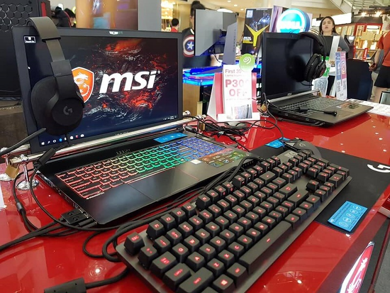 MSI Gaming Laptops Showcased in Complink Gaming and Tech Fair Event