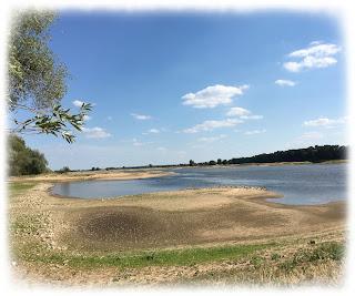 Riesige Strände an der Elbe