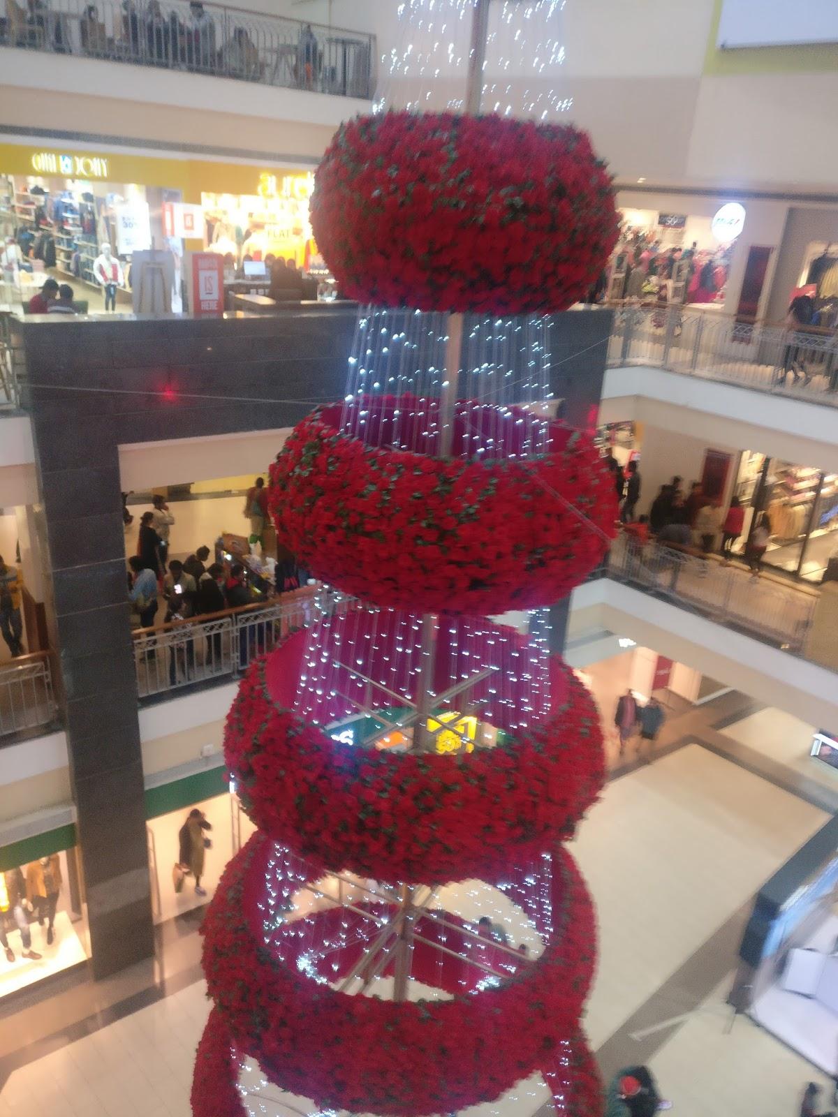 Merry Xmas in Pacific Mall, Dehradun