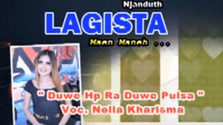 Lirik Lagu Duwe Hp Ra Duwe Pulsa - Nella Kharisma