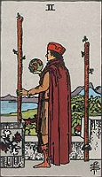 The Two of Wands - RWS