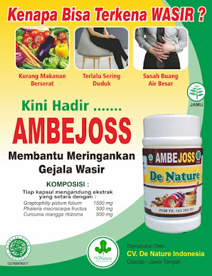Jual Obat Wasir Ambejoss Dan Zaitop De Nature Di Banten