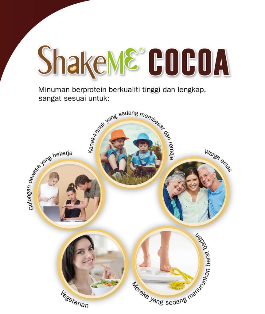 Untuk siapa ShakeMe Cocoa
