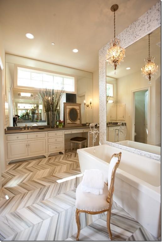 Palm Tree Bathroom Decor Ideas Bathroomist: Palm Trees & Damask: Our Bathroom