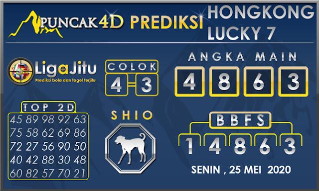 PREDIKSI TOGEL HONGKONG LUCKY 7 PUNCAK4D 25 MEI 2020
