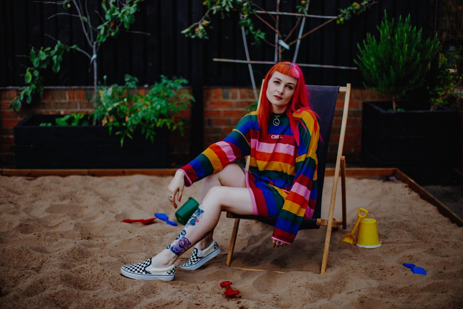 Alternative Fashion Blogger Foxxtailz Styles The Ragged Priest