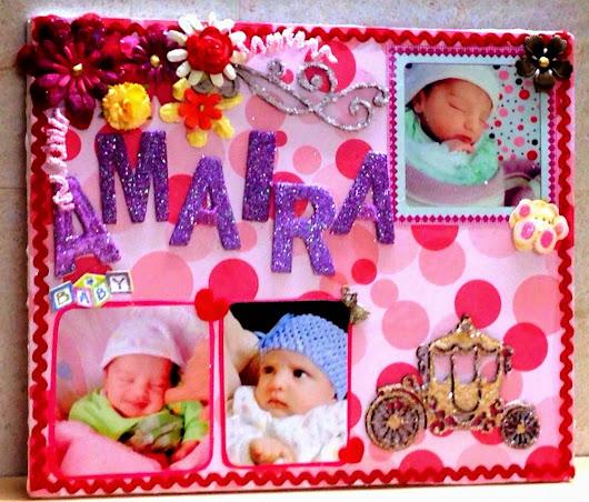 Name Board For a Baby