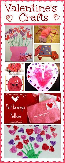 25 Valentine Crafts for Kids