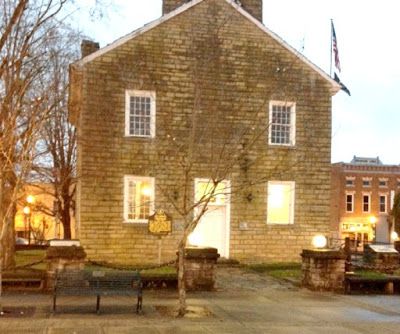 The Historic Old Greensburg Courthouse in Kentucky