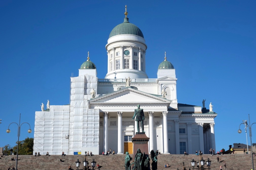 Journey to Desert and Arctic - Helsinki Cathedral, Finland