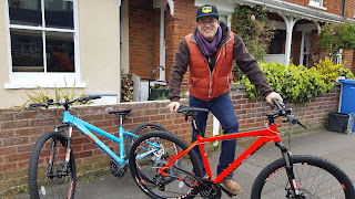 Two of the bikes I won from WD40