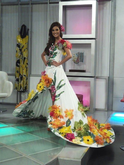 SASHES AND TIARAS.....Miss Universe 2012 National Costume ...