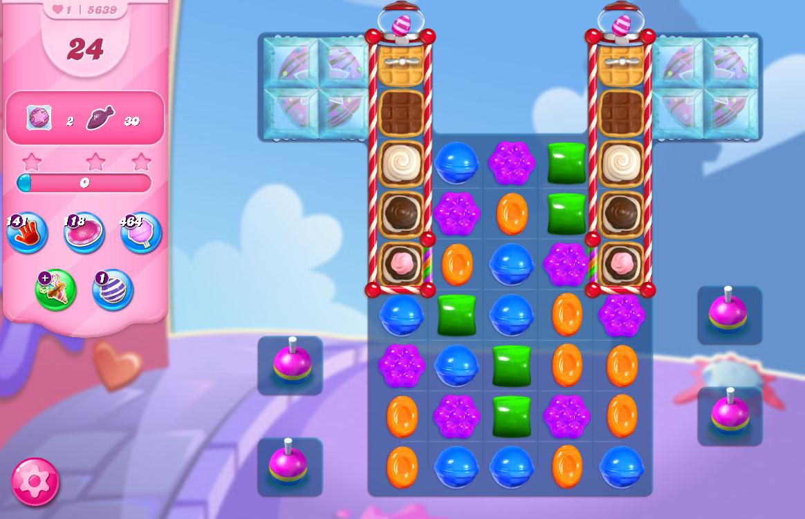 Candy Crush Saga level 5639