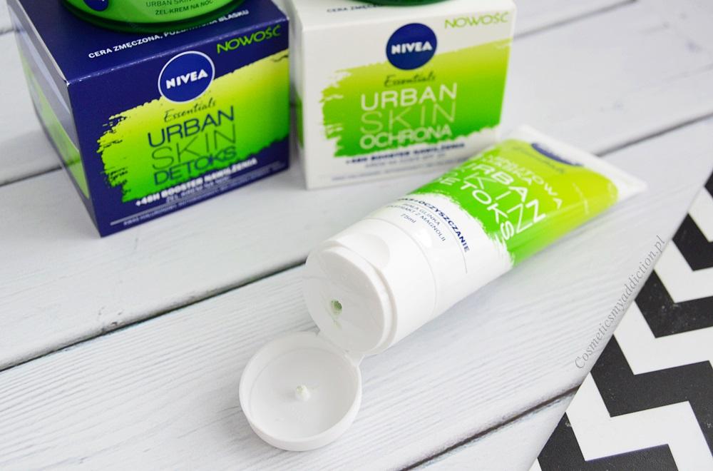 Nivea Urban Skin Detoks - Oczyszczanie i antyoksydacja, ale czy warto?
