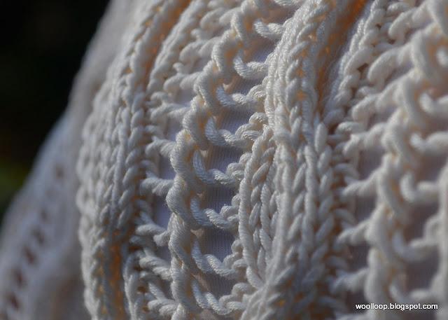sweter na drutach nr 4,5