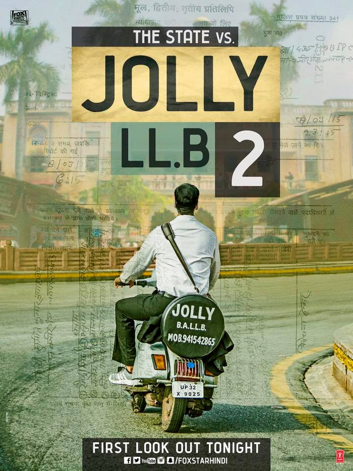 Akshay Kumar, Huma Qureshi, Paresh Rawal upcoming 2017 Hindi film 'Jolly LLB 2' Wiki, Poster, Release date, Songs list