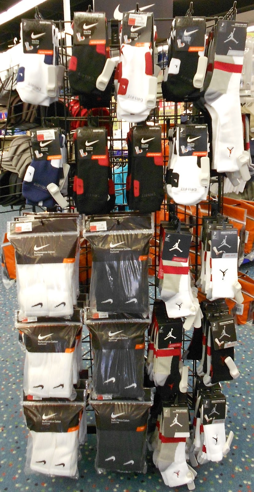 18a262d3a These are premium basketball socks by Nike available at all Mr. Alan s!