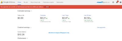 Dasboard Google Adsense