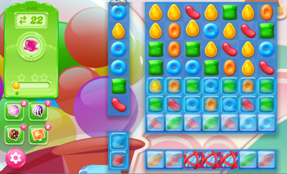 Candy Crush Jelly Saga 449