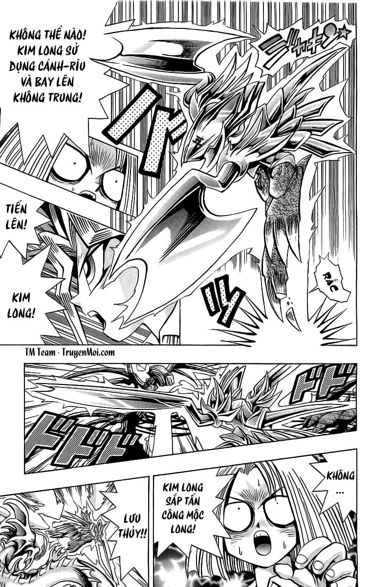 YUGI-OH! chap 47 - long trát phần ii trang 17