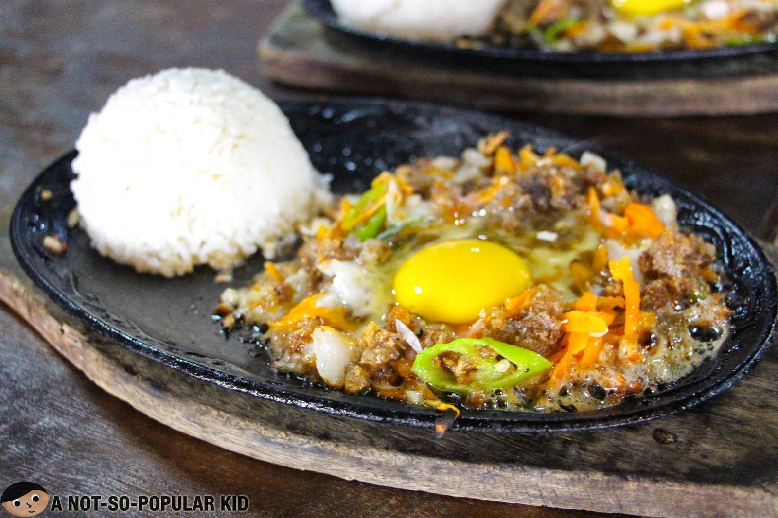 The Ilocano-style Bagnet Sisig in Tinuno