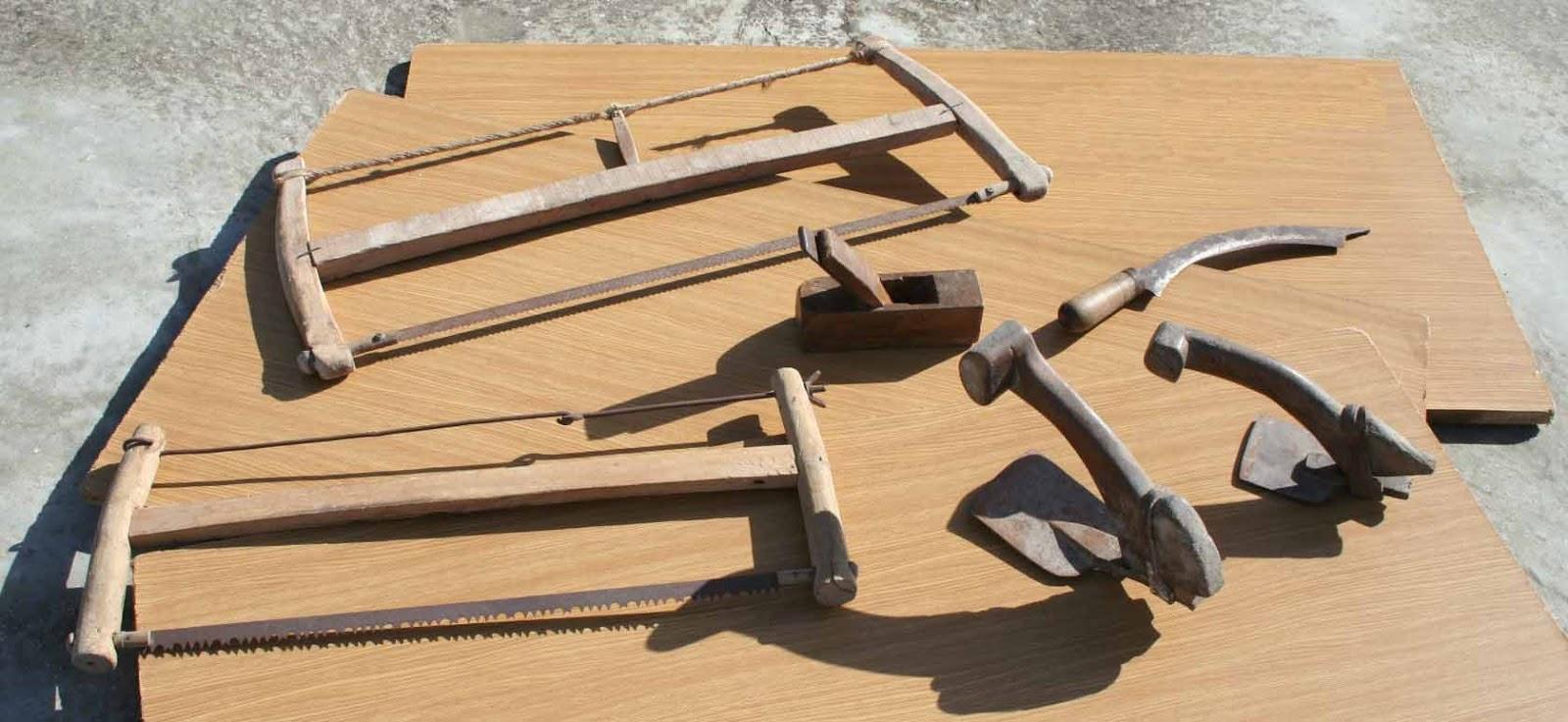 El museo del diletante herramientas antiguas de carpinter a - Herramientas de campo antiguas ...