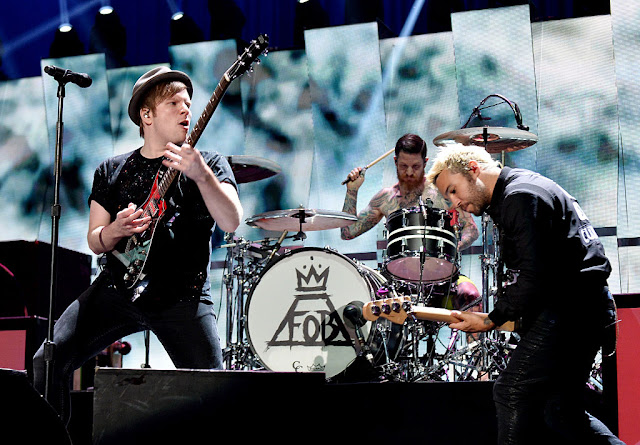 Fall Out Boy released their newest single 'Young and Menace'