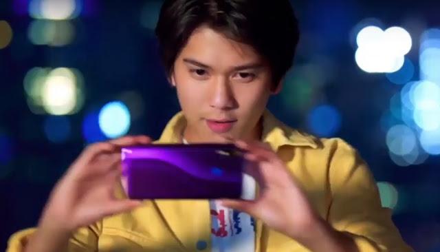 cowok ganteng iklan hp realme 3 pro 2019