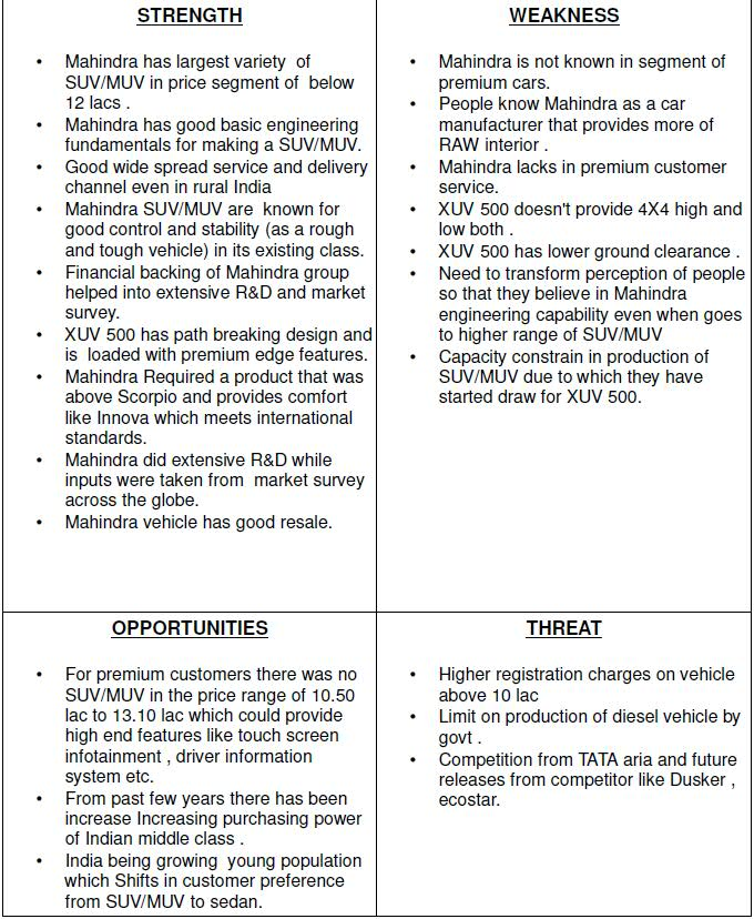 Tata Motors SWOT Analysis, Competitors & USP