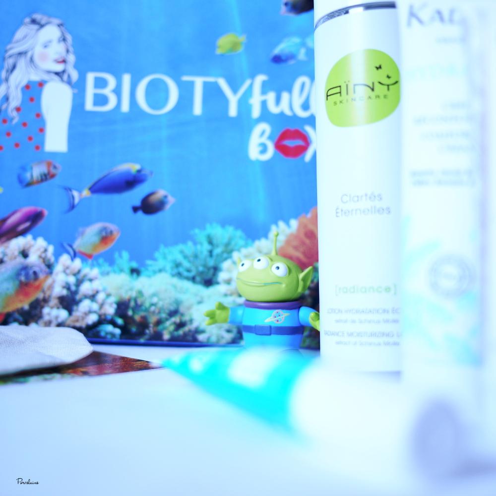 Biotyfull Box - Avril 2017 (comme un poisson dans l'eau ;) )