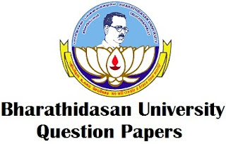 BDU Previous Question Papers Download PDF