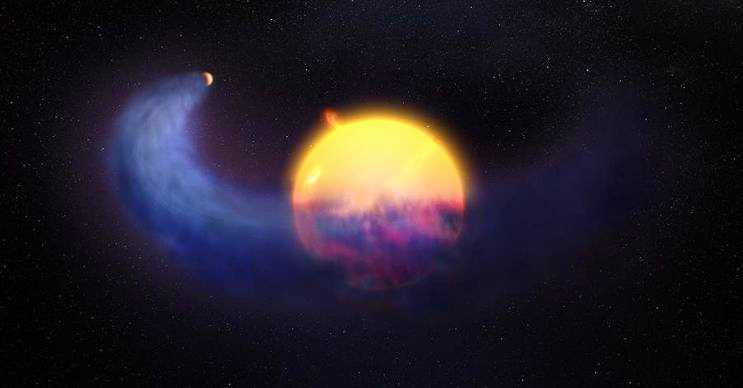 Yanan buz gezegeni olarak da bilinen Gliese 436b, Neptün büyüklüğünde bir öte gezegendir.