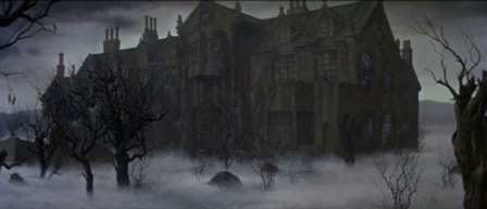 House of Usher (1960) matte painting