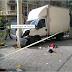 Un camión sin frenos deja 7 heridos en un atropello en el centro de Barcelona