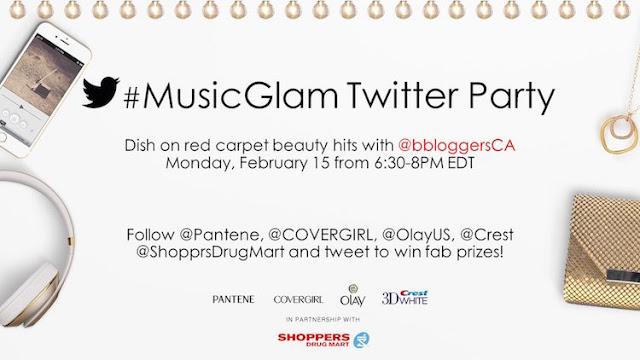 MusicGlam Twitter Party Grammys #PGmom
