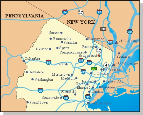 Ridgewood New Jersey Map.Happy Thanksgiving From Ridgewood Nj Plus How To Celebrate It In