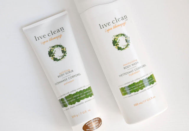 Live Clean Spa Therapy Collection Review