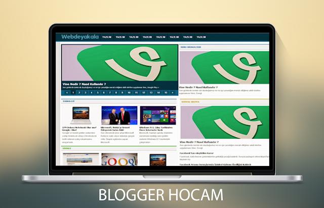 Blogger Teknoloji v1 Teması