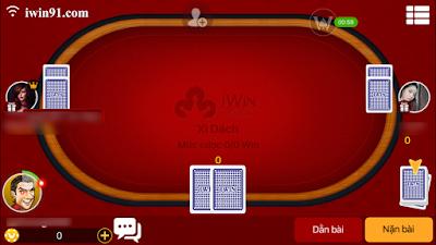huong dan game xi dach trong iwin mobile
