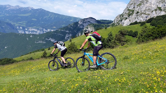 mountain bike brentonico monte baldo