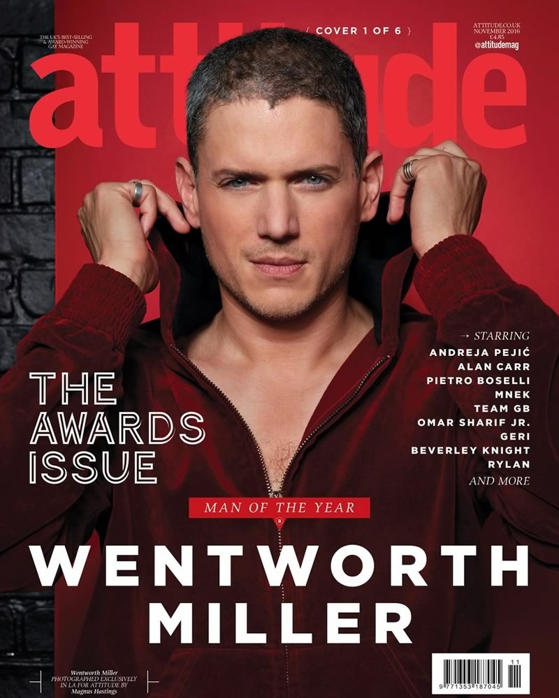 Attitude Magazine Man of the Year 2016