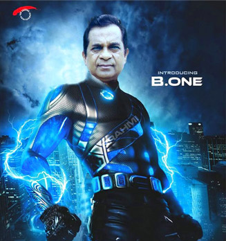 Brahmanandam (brahmi) As B.One: Morphed Image: Parody of Ra.One